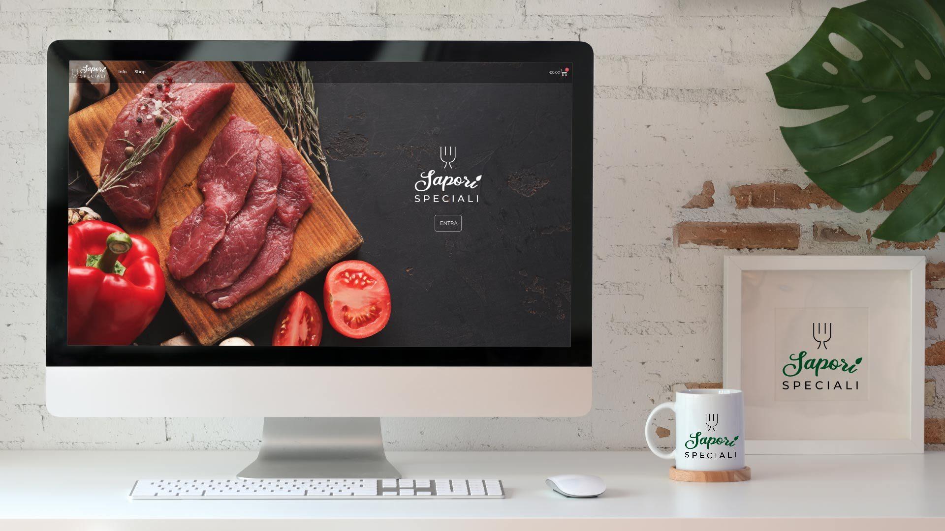 Sito Web E-commerce alimentare